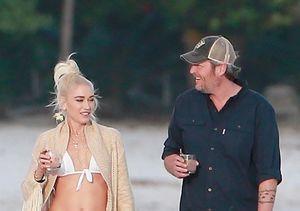 Pic! Gwen Stefani & Blake Shelton's Sexy Beach Escape