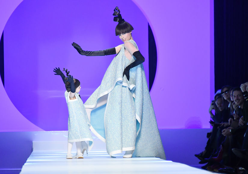 Pregnant Coco Rocha and Daughter Ioni, 2, Hit the Runway… and It's Adorable