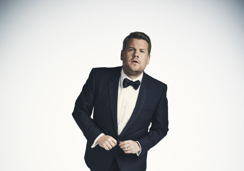 James Corden on Hosting Grammys 2018, Plus: His New Baby Girl