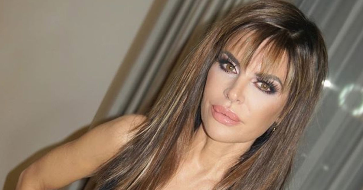Wow Lisa Rinna Looks Amazing With Hair Extensions Extratv