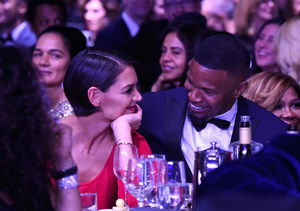 Katie Holmes & Jamie Foxx Go (Very) Public at Clive Davis Party