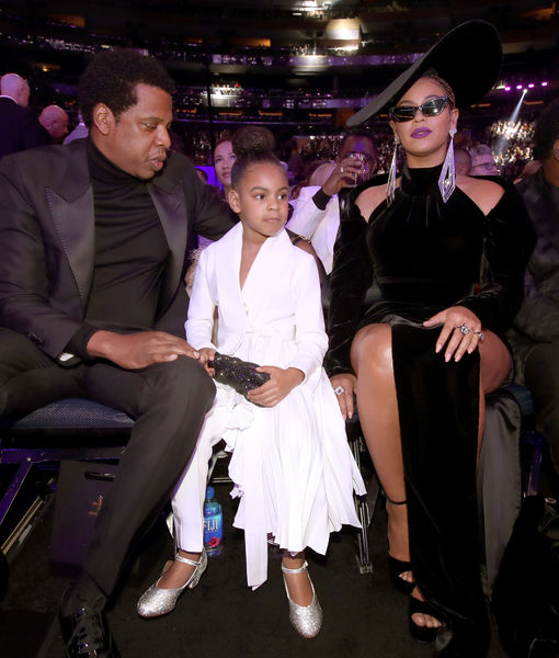 Blue Ivy Shut Down Beyoncé & JAY-Z without a Word at Grammys 2018