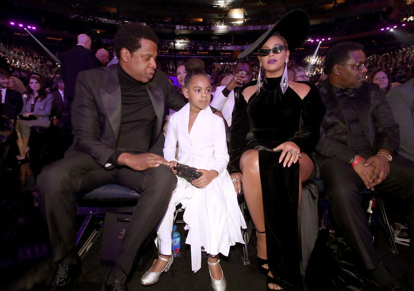 Watch Blue Ivy Shut Down Beyoncé & JAY-Z without a Word at Grammys 2018