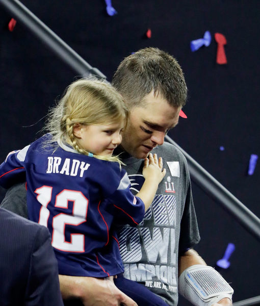 Tom Brady Cuts Radio Interview Short Over Offensive Comments About His Daughter