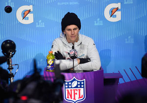 Tom Brady Takes 'Extra' Pop Culture Quiz — How'd He Do?