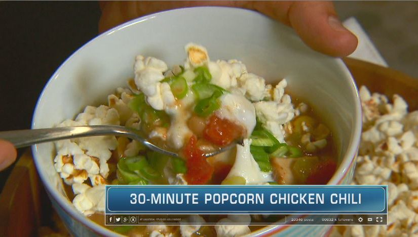 Healthy Tips from Weight Watchers, Plus: A 30-Minute Popcorn Chicken Chili…