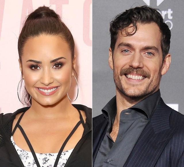 Is Demi Lovato Insta-Flirting with Henry Cavill?