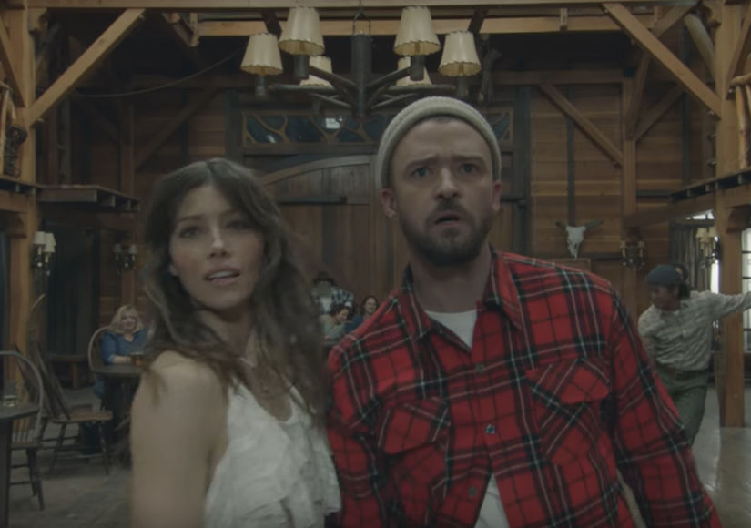 Justin Timberlake & Jessica Biel Dance Together in His 'Man of the…