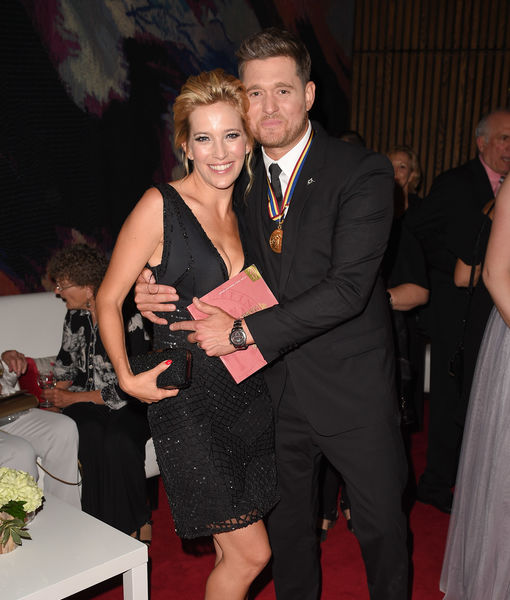 Michael Buble & Luisana Lopilato Reportedly Expecting Baby #3!