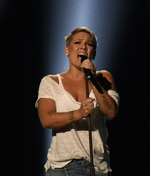 P!nk Is Practicing the Flu Away, Intends to Sing National Anthem at the Super Bowl