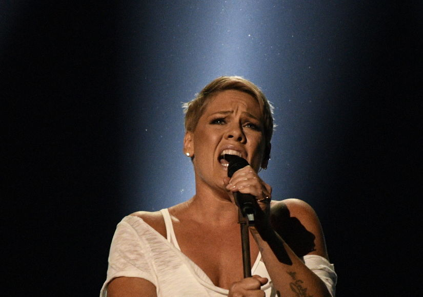 P!nk Practicing the Flu Away, Intends to Sing National Anthem at the Super Bowl