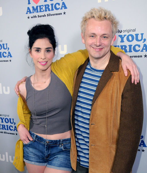 Sarah Silverman & Michael Sheen Split
