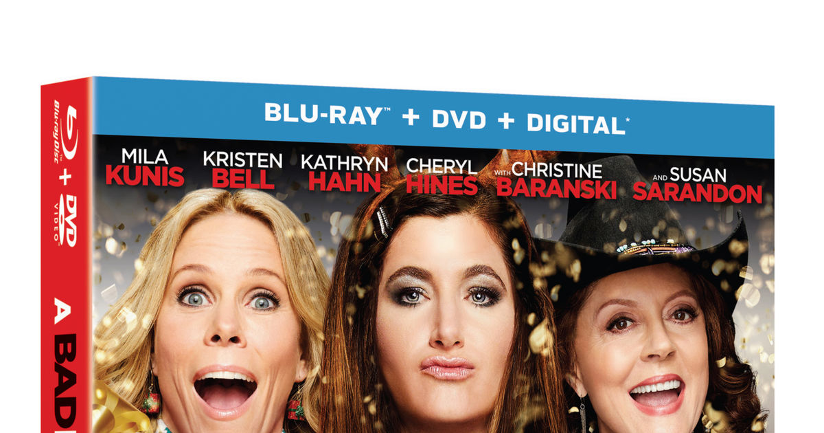 Bad Moms Christmas Dvd Release Date.Win It A Bad Moms Christmas On Blu Ray And Dvd Extratv Com