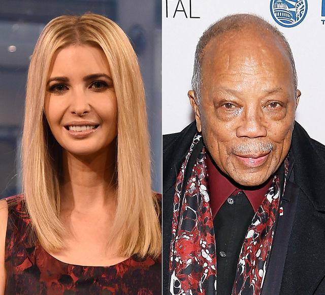 Did Ivanka Trump & Quincy Jones Once Date?
