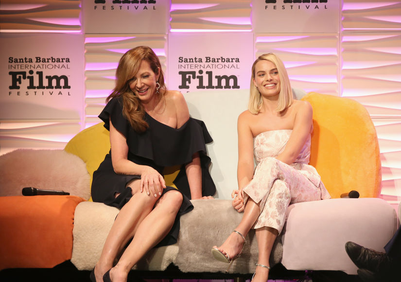 Margot Robbie & Allison Janney on Those Tonya Harding Oscar Rumors
