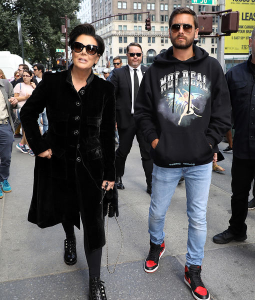 Awkward! Watch Kris Jenner Confront Scott Disick Over Sofia Richie's Age