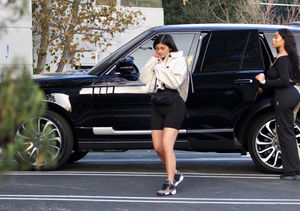 Kylie Jenner Spotted for the First Time Since Welcoming Baby Stormi