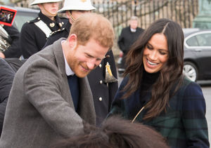 Video! Meghan Markle Giggles as Pony Bites at Prince Harry