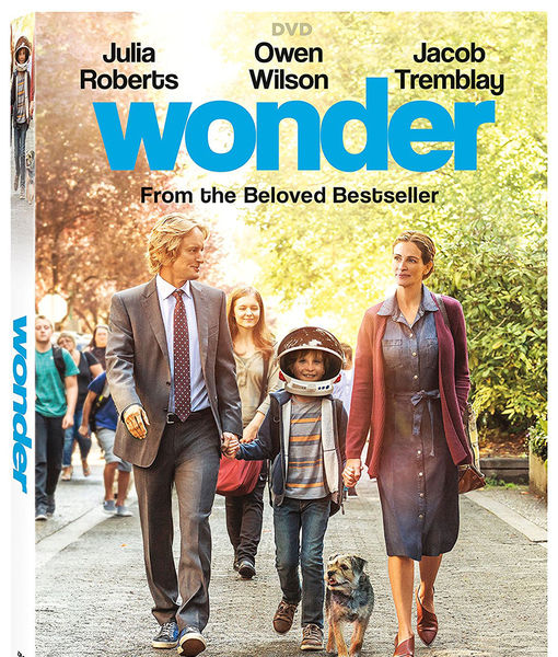 Win It! 'Wonder' on Blu-ray and DVD