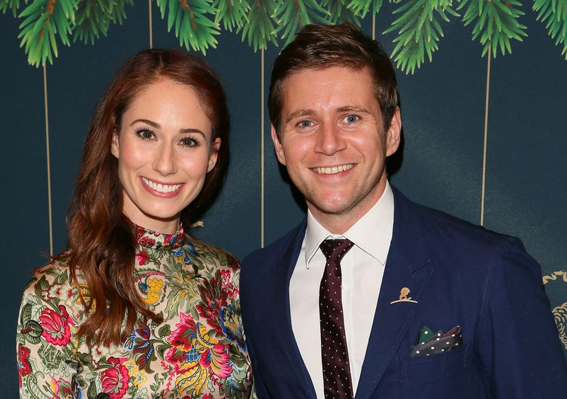 Allen Leech & Jessica Blair Herman Engaged