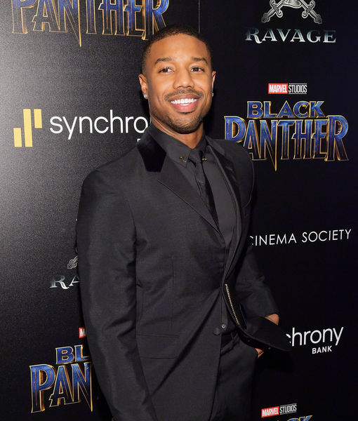 Michael B. Jordan's 'Emotional' Return to His Hometown to Host 'Black Panther' Screening