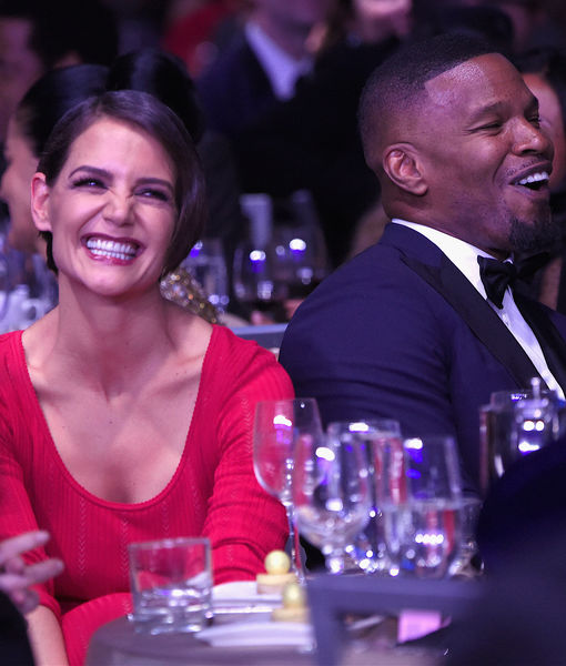 Jamie Foxx Leaves Live Interview Over Surprise Katie Holmes Question