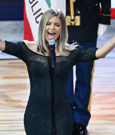 Fergie Breaks Her Silence on That National Anthem Performance