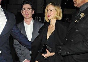 Naomi Watts & Billy Crudup Caught Holding Hands Outside BAFTA After-Party
