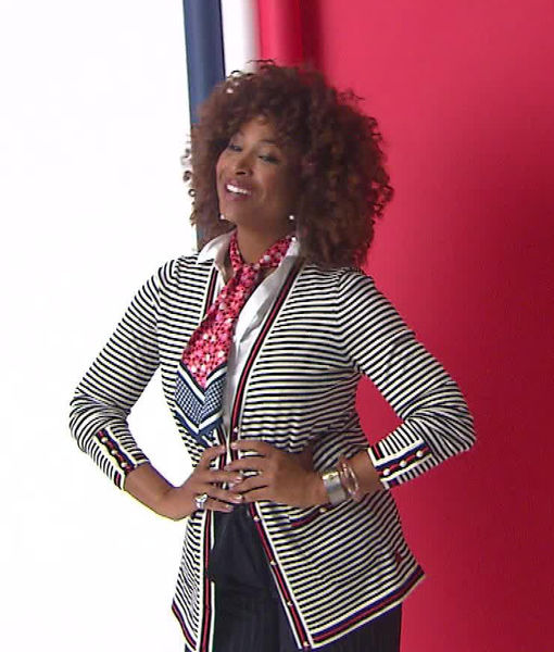 'Extra' Goes Behind the Scenes of Tanika Ray's Shoot with O