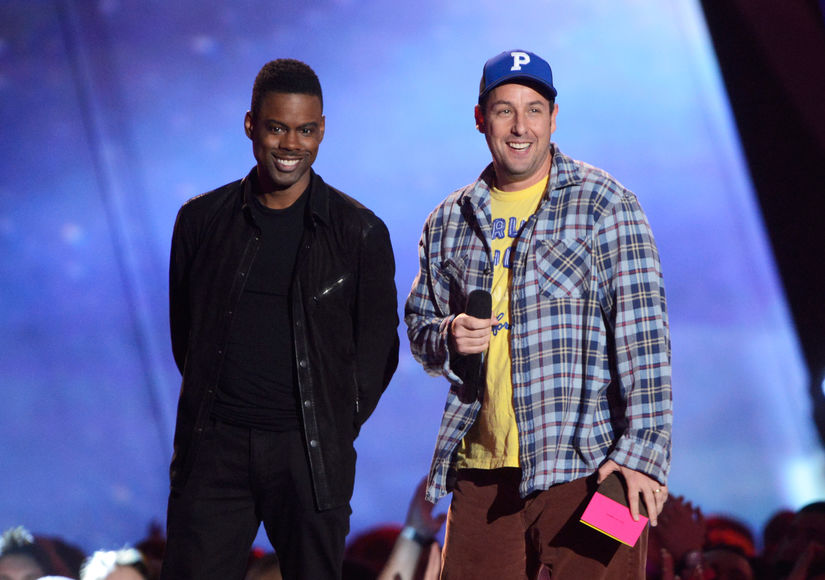 Friendship Goals! Is Adam Sandler Ever Shocked by Chris Rock's Comedy Confessions?