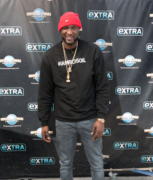 Lamar Odom on Ex-Wife Khloé Kardashian: 'I'm Happy For Her'