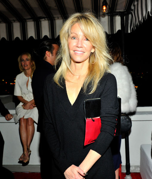 Police Search Heather Locklear's Home for Gun