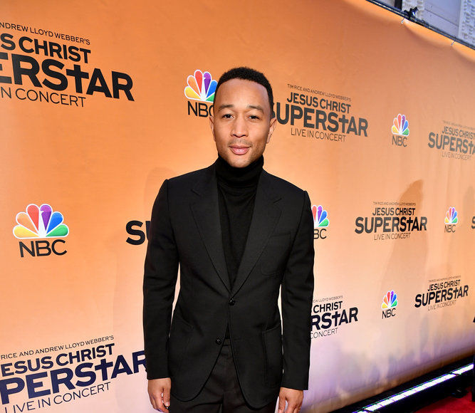John Legend on Playing Jesus Christ, and Possible Names for His Baby Boy