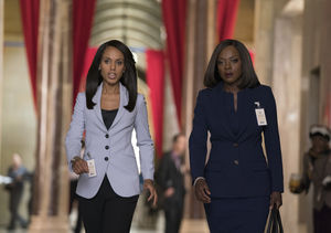 Viola Davis Spills on Shocking 'Scandal'/'How to Get Away with Murder'…