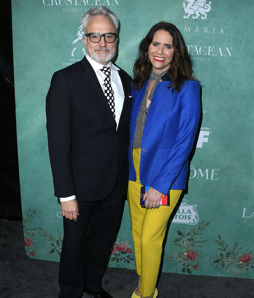 Bradley Whitford & Amy Landecker Engaged — See Her Ring!