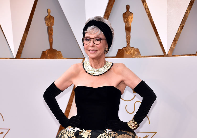 Rita Moreno Recycles 1962 Oscars Dress — See Her Red-Carpet Modification!