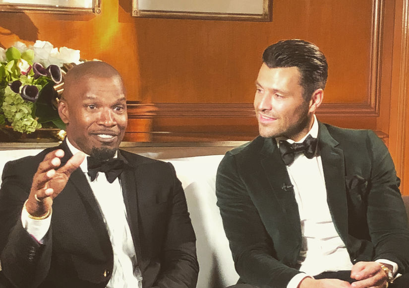 Jamie Foxx Pays the Ultimate Compliment to Mark Wright