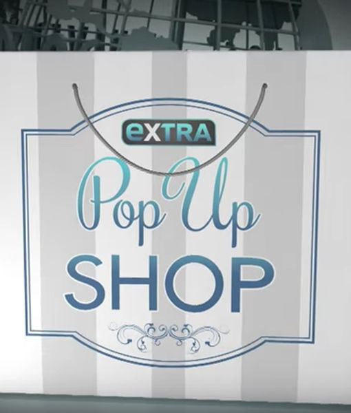 'Extra's' Pop-Up Shop: Hair Dryers, Clutches, and Face-lifts