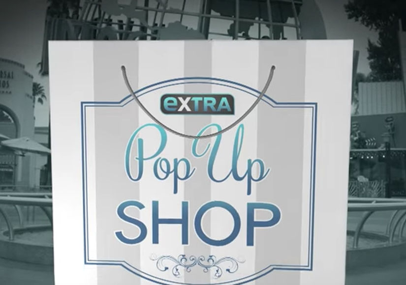 'Extra's' Pop-Up Shop: Flat Irons, Totes, and Anti-Aging Systems