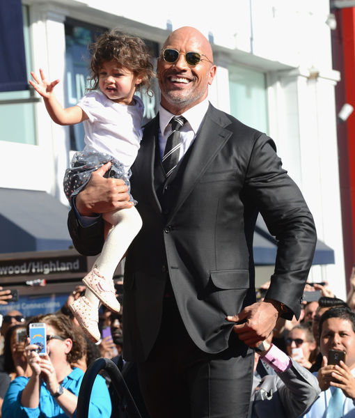 Dwayne 'The Rock' Johnson's Daughter Rushed to ER