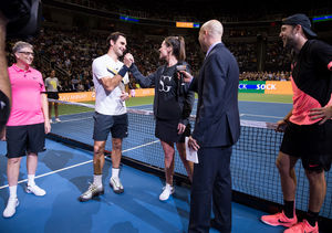 Roger Federer 'Totally Distracted' Savannah Guthrie for a Good Cause