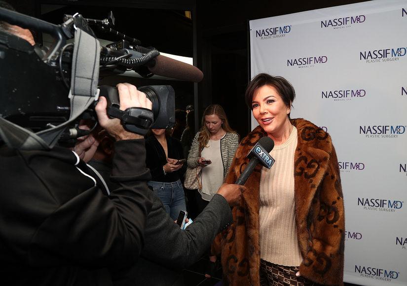 Kris Jenner Gushes Over Kylie Jenner's Baby Girl Stormi