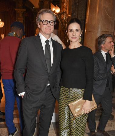 Colin Firth & Livia Giuggioli Split