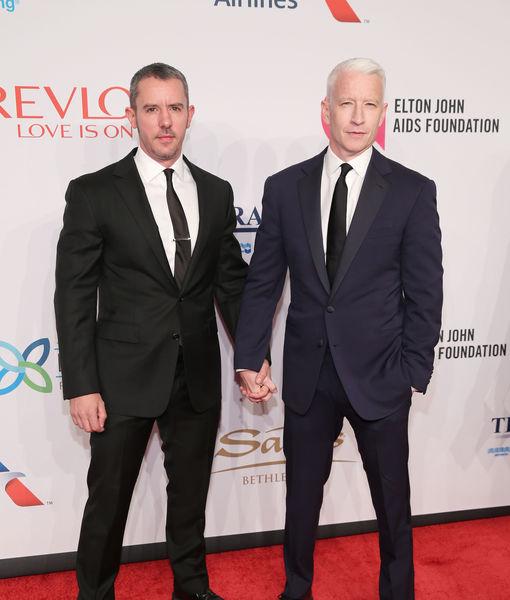 Anderson Cooper & Benjamin Maisani Split