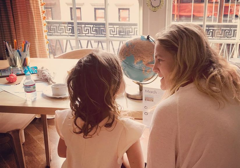 Drew Barrymore Explains Why Her Daughter Is Mad at Her