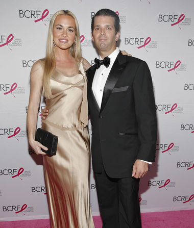 Donald Trump Jr.'s First Words After Wife Vanessa Files for Divorce