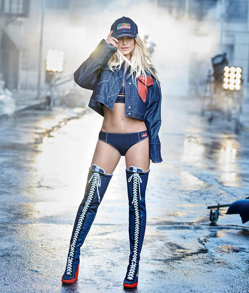 Denim Panties? You've Got to See Britney Spears' New Ad Campaign