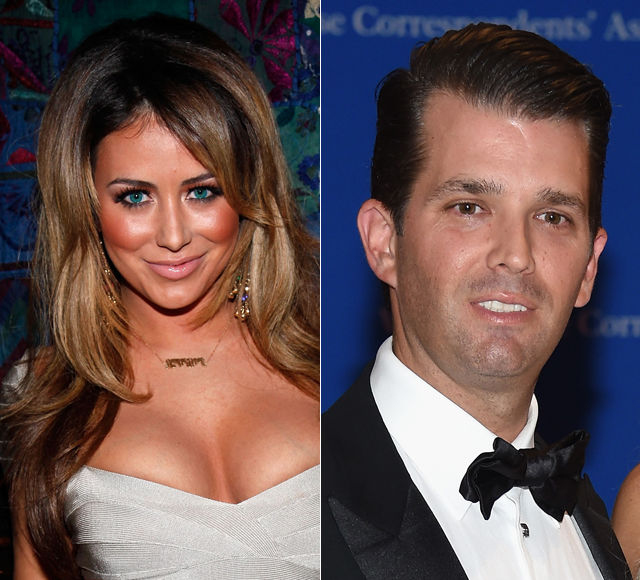 Secret Makeouts & Spanx Ripping! Aubrey O'Day Details Relationship with Unnamed Star — Is She Talking About Donald Trump Jr.?