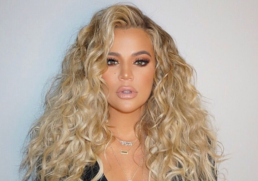 Pic! Khloé Kardashian Pregnant and Posing in Lingerie