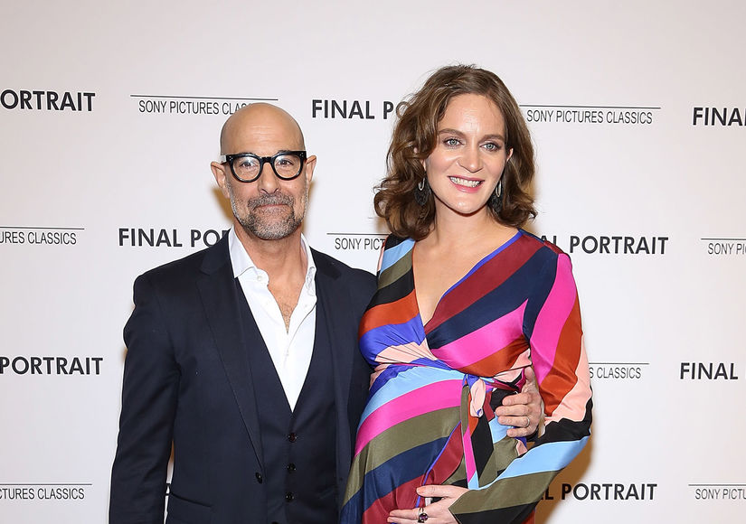 Stanley Tucci & Felicity Blunt Secretly Welcome Baby #2